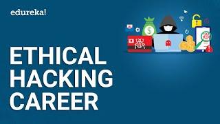 Ethical Hacking Career | Ethical Hacker Jobs & Salary | Cybersecurity Course | Edureka