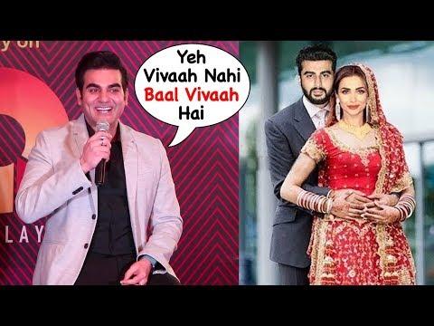 Arbaaz Khan Makes FUN of Malaika Arora Finally Marrying Bf Arjun Kapoor in April Next Month