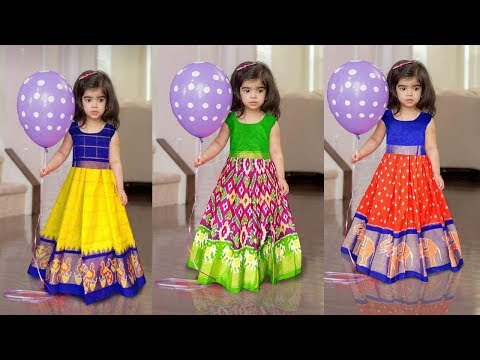1ee0f2ee11cd6b Kids Pattu Pavadai Collections or Kids Designer Lehanga - تنزيل يوتيوب