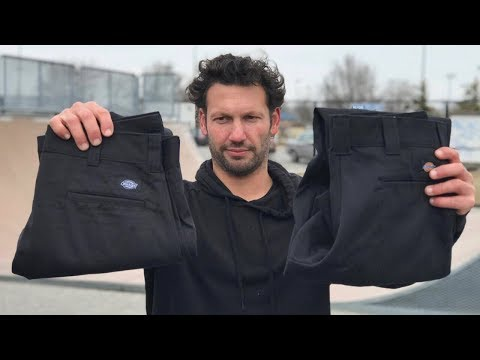What Are THE BEST Dickies Pants To Skate In?