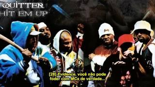 Gambar cover Eminem (D12) - Quitter/Hit 'Em Up (Legendado)