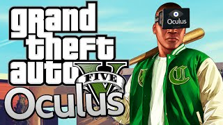 GTA 5 With OCULUS RIFT ! First Person Gameplay on PC! (Grand Theft Auto V)