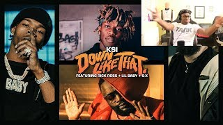 Deji Reacts To KSI – Down Like That feat. Rick Ross, Lil Baby & S-X (Official Video)