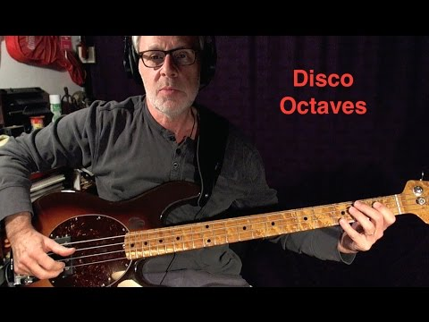 Play Disco Octaves on Bass - The Easy Way