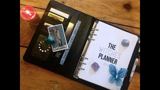 The Witches' Planner - Unboxing and Review