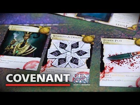 "Shadow Games w/ David ""DC"" Carl | Board Game Overview | GenCon 2016"