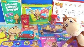 Kukuli Çizgi Film oyuncakları Kukuli Puzzle Kukuli Bul Tak Oyuncaklar ve Kukili Bağlantı Kurma Oyunu
