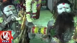 Jadala Ramalingeswara Swamy Brahmotsavalu Grandly Begins | Cheruvugattu, Nalgonda | V6 News