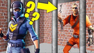 ESCAPE From PRISON In FORTNITE! (Cops And Robbers)
