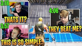 Tfue & Symfuhny DOMINATE Mongraal's Editing Map in Fortnite!