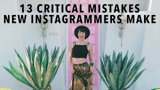 Gambar cover 13 Sins Of Instagram: Maximise Your Growth By Avoiding These Mistakes