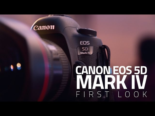 Canon EOS 5D Mark IV With 4K Video Support Launched in India at Rs