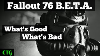 Fallout 76 BETA... A Skeptic's View