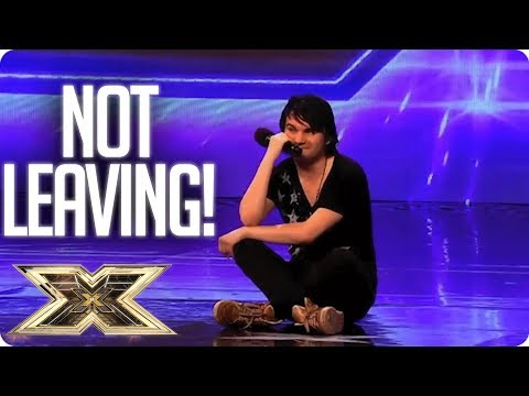 ACTS THAT CAN'T TAKE NO FOR AN ANSWER! | The X Factor UK