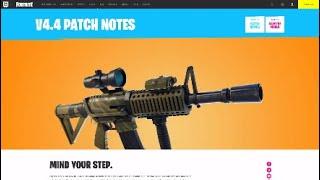Fortnite 4.4 Update Patch Notes (Official Site)
