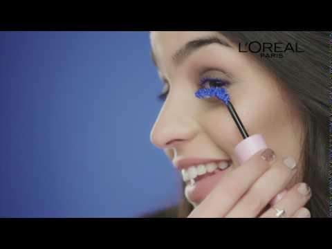 Nueva Máscara de Pestañas Azul Miss Baby Roll de L'Oréal Paris.