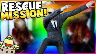 RESCUE MISSION! ZOMBIE MOON BASE! - Garry's Mod Gameplay - Gmod Zombie Apocalypse Roleplay