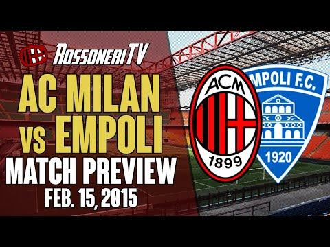 AC Milan vs Empoli   MATCH PREVIEW   Rossoneri TV