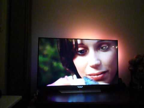 Philips 55PUK7150 Ambilight Test - Philips Forrest Run