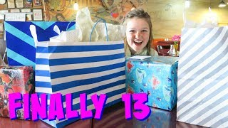 🎉 SHAES 13TH BIRTHDAY MORNING SURPRISE SPECIAL! OPENING PRESENTS!!! 🎁