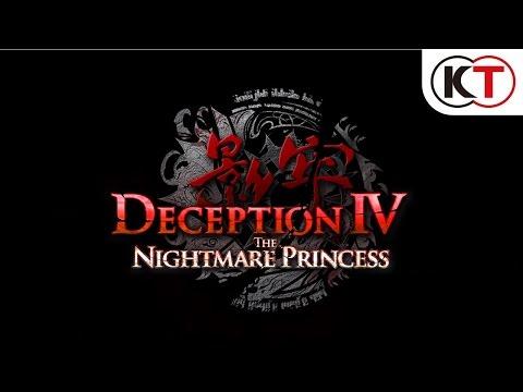 DECEPTION IV: THE NIGHTMARE PRINCESS - LAUNCH TRAILER thumbnail