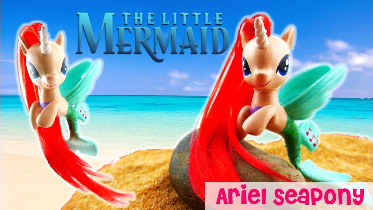 My Little Pony - Disney Little Mermaid Ariel Seapony Custom