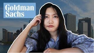 Internship that made me rethink my career...(technology summer analyst at Goldman Sachs)