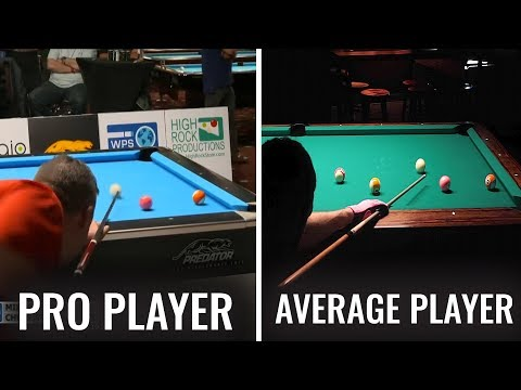 Average pool player explains and recreates the greatest pool game in modern history