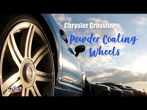 Chrysler Crossfire / Powder Coating Wheels