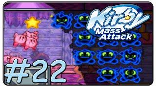 Kirby Mass Attack 100% Walkthrough Part 22 Volcano Valley Stage 5 & 6