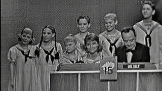 What's My Line? - Trapp family choir; Tony Randall [panel] (Jul 3, 1960)