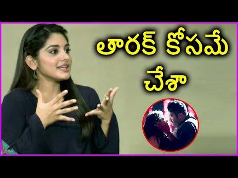 Nivetha Thomas About Jr NTR Dance Performance | Jai Lava Kusa Movie Team Interview