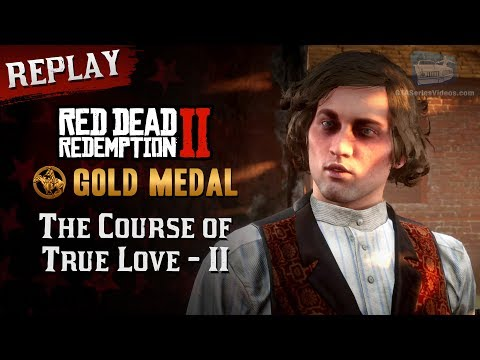RDR2 PC - Mission #28 - The Course of True Love II [Replay & Gold Medal]