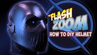 Zoom How to DIY cosplay Helmet CW Flash