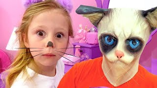 Nastya and dad - magical stories