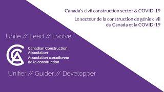 Canada's civil construction & COVID-19