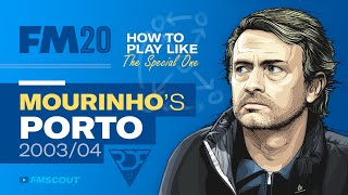 How to Play like the SPECIAL ONE in FM20