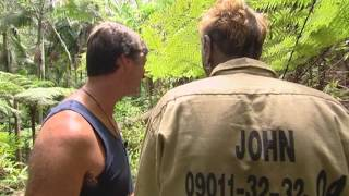 Dragging Johnny Back To Camp | I'm A Celebrity...Get Me Out Of Here!