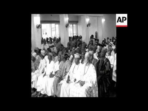 Download SYND 17 8 67 CHIEF AWOLOWO WARNS TRIBESMAN ON IMMINENT BIAFRAN INVASION HD Mp4 3GP Video and MP3