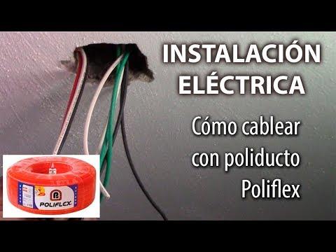 CABLEADO DE INSTALACIÓN ELÉCTRICA