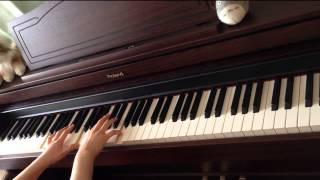 もののけ姫アシタカとサン をピアノで演奏してみた