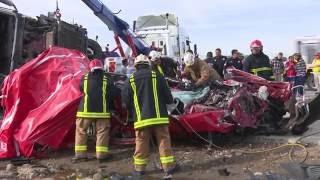 Trágico accidente en autopista Puebla - Orizaba