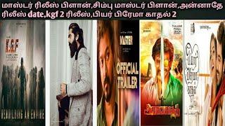 Master release plan,Simbu master plan,kgf–2 last schedule, Annatha release date pyar Prema kaathal–2