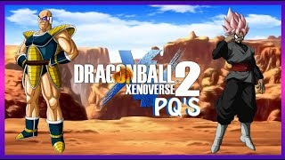 ROSÉ GOKU BLACK DBXV2 PQ ADVENTURES... WITH NAPPA?!