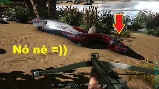ARK: Survival Evolved #14 - Giết 2 em Rắn khổng lồ Titanoboa, Trả thù =))