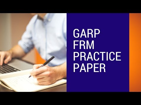 FRM GARP PRACTICE PAPERS - HOW MANY PAPERS TO BE ...