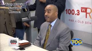 Pastor Gino Jennings - Interview with Fox 29 / 100.3 WRNB K Foxx & Quincy (updated with video)