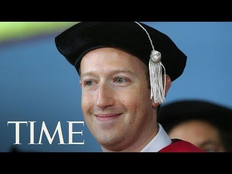 Mark Zuckerberg Gives 2017 Harvard Graduates Dating Advice | TIME