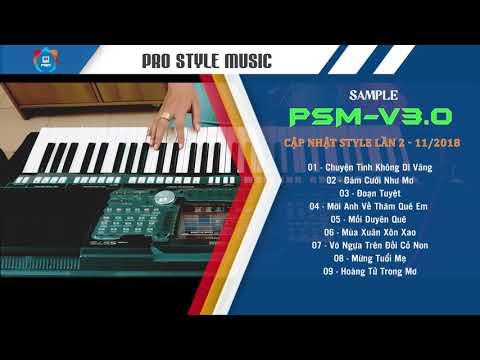 Demo các style sample PSM-V3 cập nhật lần 2 - Demo và làm style: Minh Trung - Team PSM