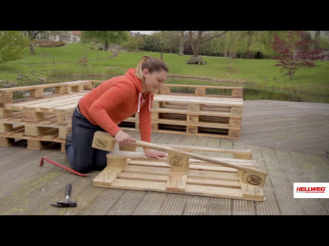 Palettensofa bauen | Schritt-für-Schritt-Anleitung